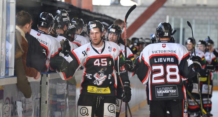 Le HC Delémont-Vallée est en route pour la 1re ligue