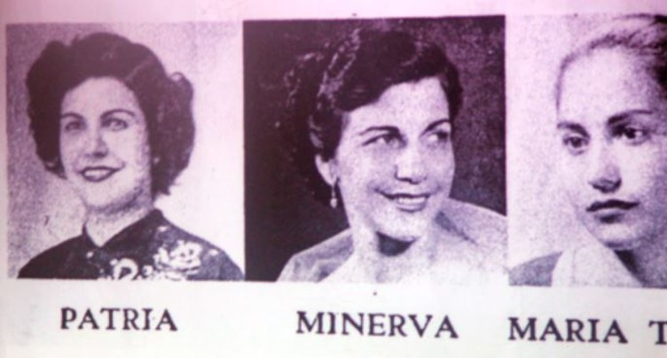 Au mur les yeux bandés - Les soeurs Mirabal