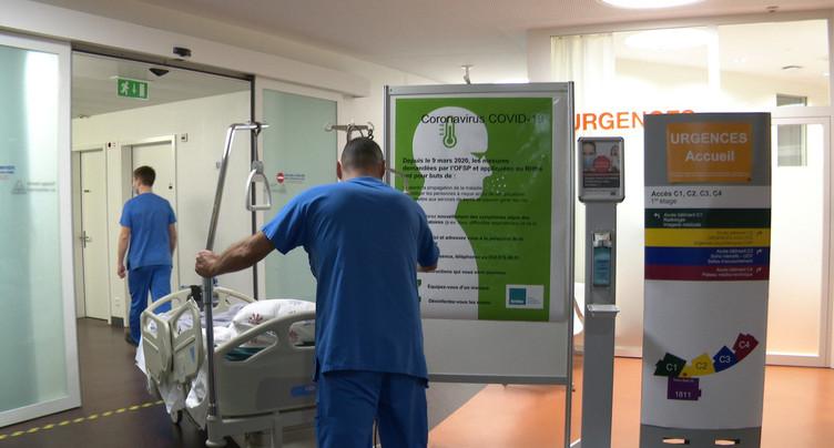 Covid-19 : Patient français transféré par hélicoptère à Neuchâtel