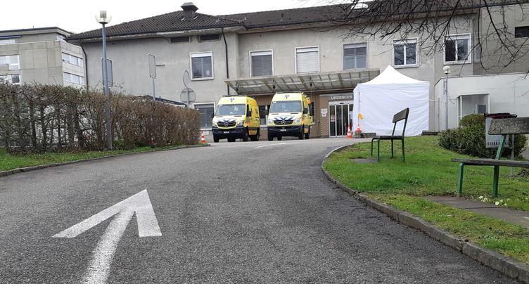 L'Hôpital du Jura veut recourir au chômage partiel