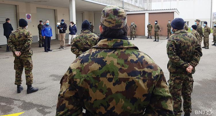 L'armée a pris ses quartiers à l'H-JU