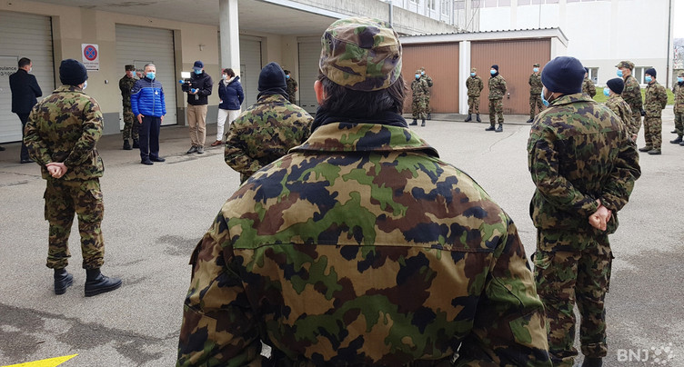 Un tiers des Neuchâtelois est inapte au service militaire