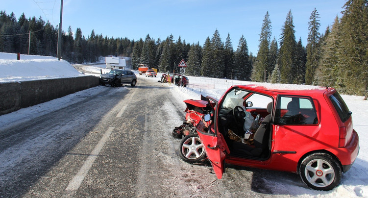 Moins d'accidents sur les routes jurassiennes