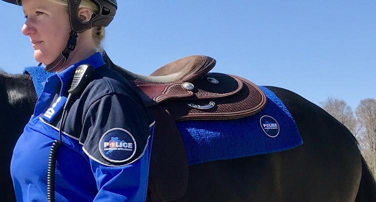La police jurassienne à cheval sur la sécurité
