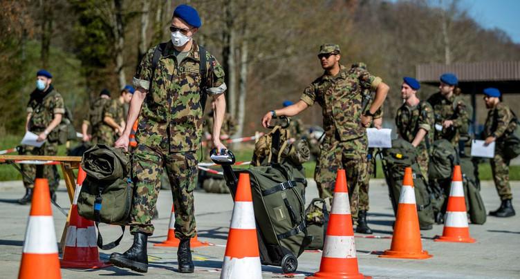 Des troupes en formation dans le Jura