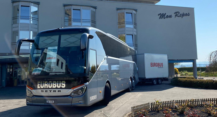 Le bus de dépistage du coronavirus envoyé dans le Jura bernois
