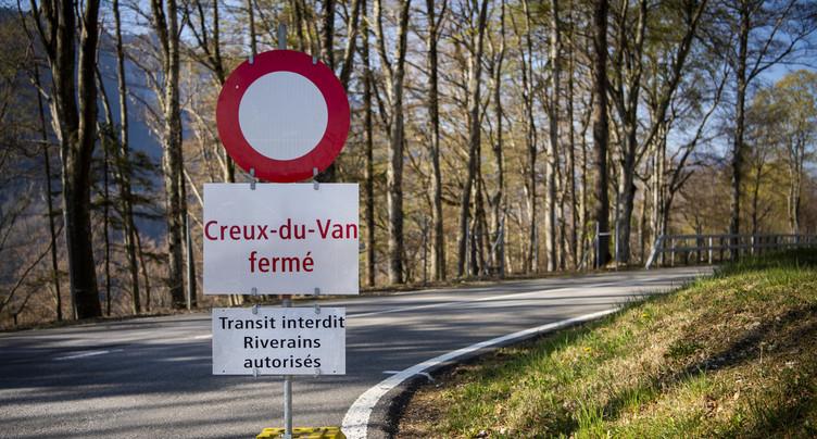 Une dizaine d'amendes d'ordre distribuées au Creux-du-Van