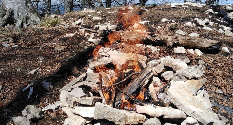 Levée de l'interdiction de faire des feux