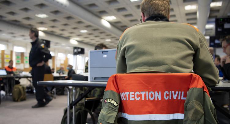 La protection civile bernoise sollicitée durant la crise