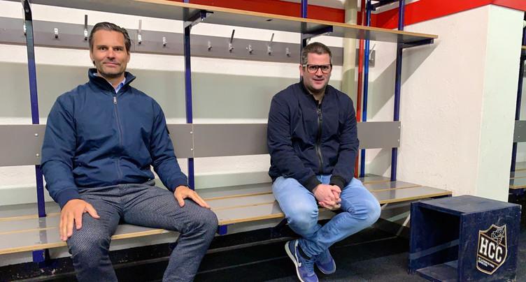 Thierry Paterlini nommé entraîneur du HCC