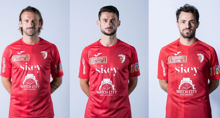 Trois départs au FC Bienne