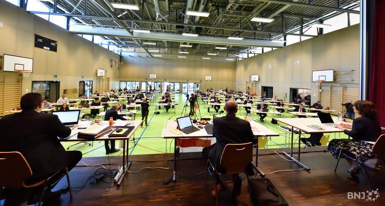 Le Parlement jurassien a adopté Courroux