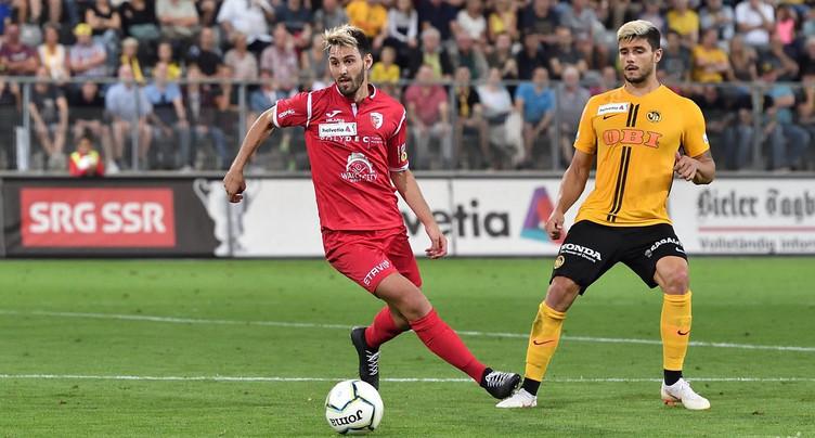 Un attaquant de retour au FC Bienne
