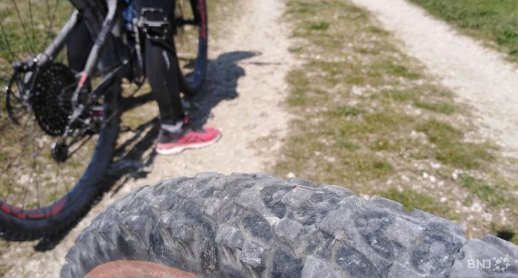 Cycliste grièvement blessée au Mont Vully