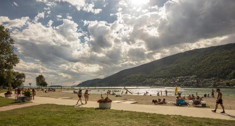 Ouverture des plages de Bienne et Nidau sous surveillance
