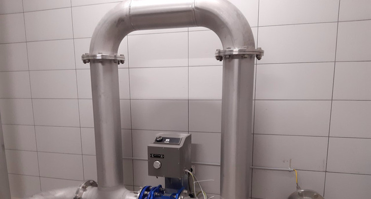 Mise en service du nouveau réservoir de SolBoz