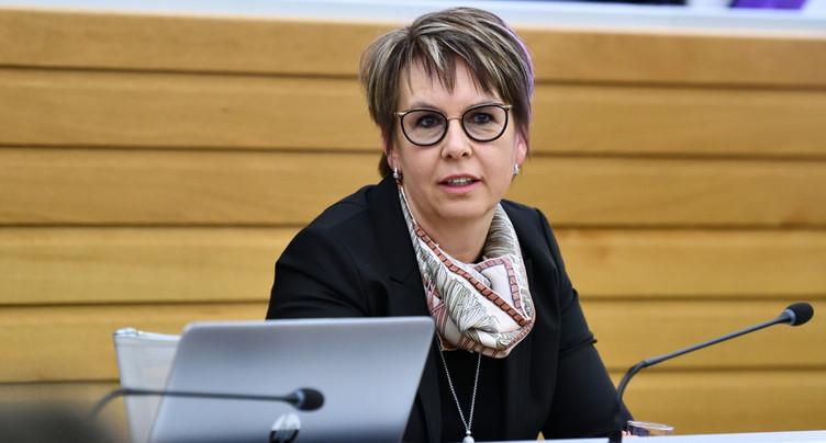 Nathalie Barthoulot va présider les directeurs cantonaux des affaires sociales