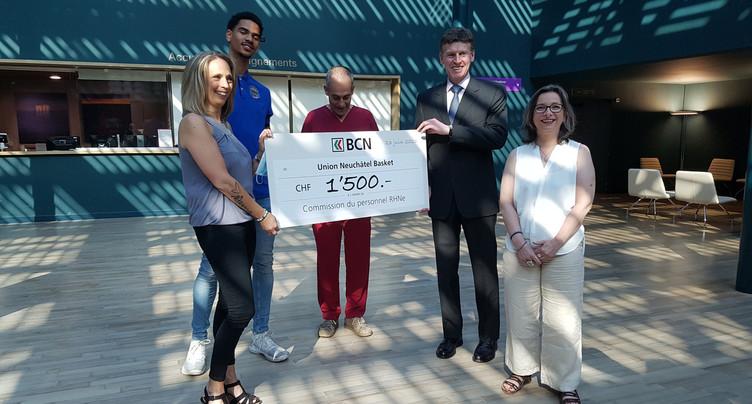 Un don de 1500 francs pour RHNe