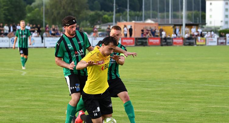 Le FC Bassecourt bat le FC Courtételle en amical
