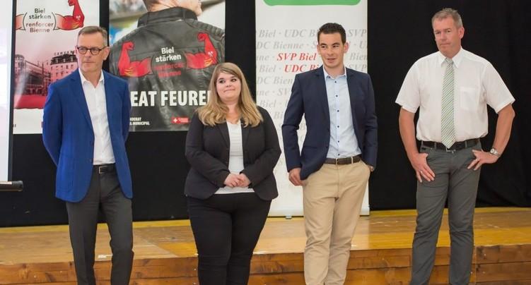 Bienne : l'UDC propose quatre candidats pour le Conseil municipal
