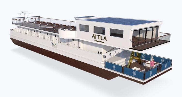 Le projet du MS Attila avance conformément au plan des promoteurs