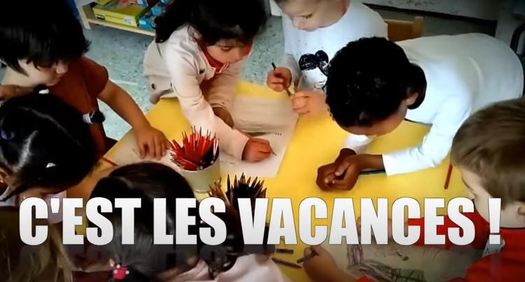 Un clip pour lancer les vacances