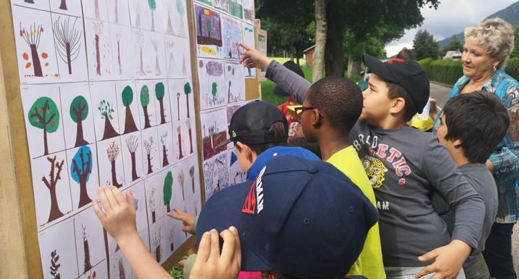 Une empreinte verte pour les écoliers du Parc Chasseral