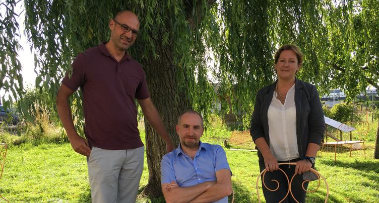 Céline Robert-Charrue Linder et Vincent Schmitt : candidats des Verts