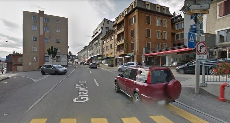 Tramelan: cycliste percuté et héliporté
