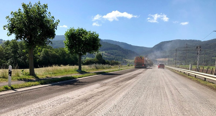 Expérience inédite sur la route entre Delémont et Courrendlin