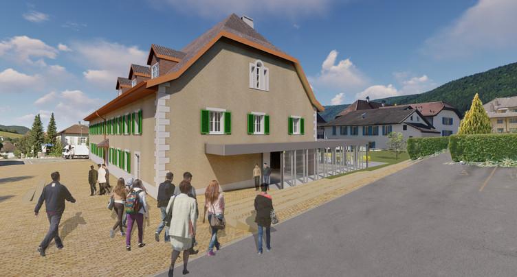 La Fondation pour le rayonnement du Jura bernois rachète la Couronne à Sonceboz