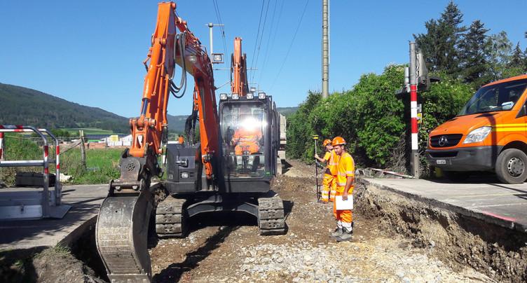 La réouverture de la ligne Delémont-Delle est prévue samedi