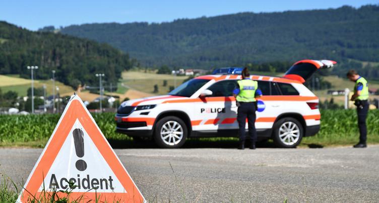 Un accident dans les Gorges du Pichoux