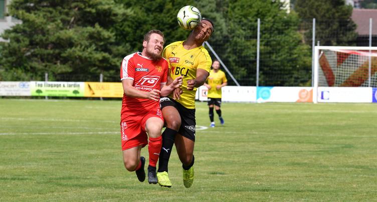 Le FC Bassecourt accroché