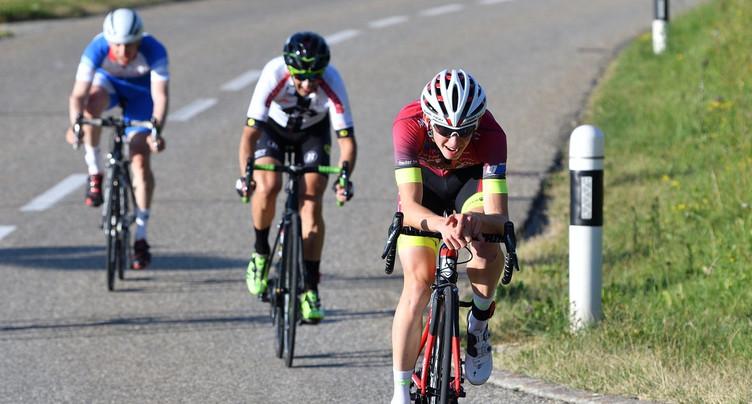 Yannis Voisard la tient, sa première victoire en professionnels !