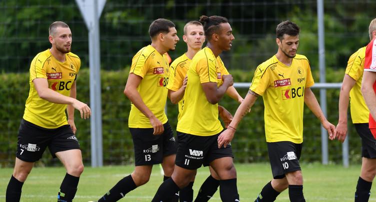 Le FC Bassecourt accroché à Moutier