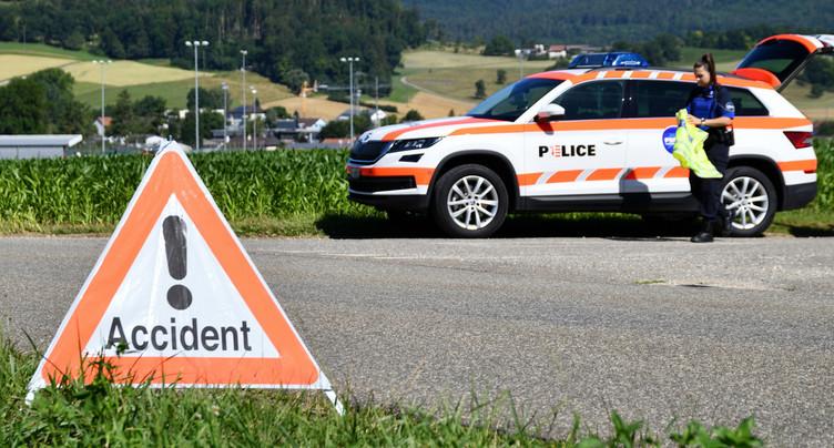 Un piéton heurté par un cycliste a perdu la vie à Glovelier