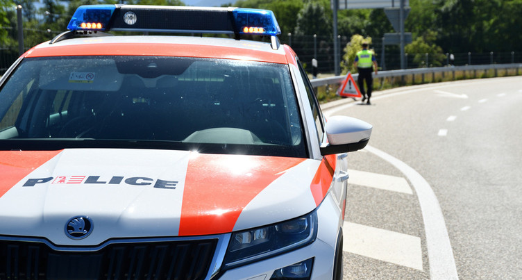 Un blessé dans un accident à Delémont