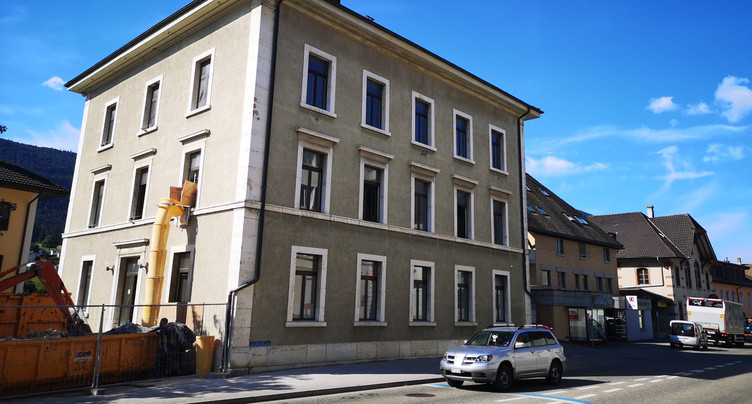 Retard dans la rénovation du bâtiment municipal de Corgémont