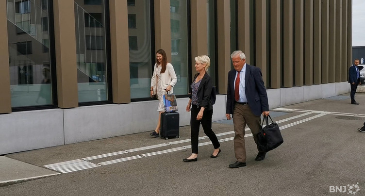 Isabelle Moret et Hans Stöckli sont arrivés dans le Jura