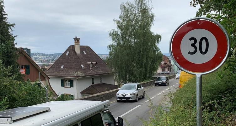 Interdire les camions sur la route de Reuchenette à Bienne