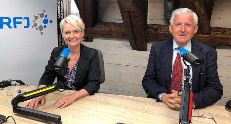 Le regard des présidents des chambres fédérales sur le Jura