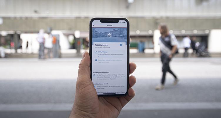 L'effet de l'application SwissCovid pas encore mesurable