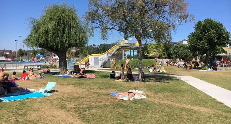 La piscine de Porrentruy à nouveau fermée au public