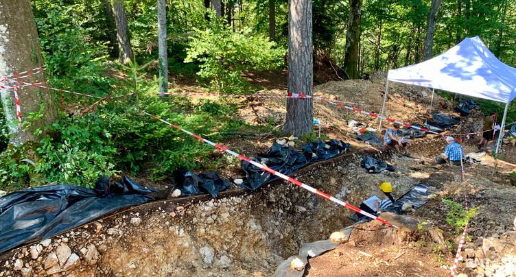 Apprentis archéologues cherchent vestiges celtes