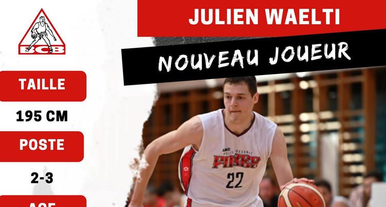 Le BCB mise sur Julien Wälti