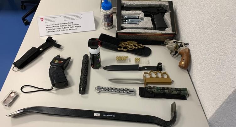 Un septuagénaire français arrêté dans le Jura avec un arsenal