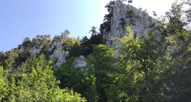 Un Allemand se tue dans la région du Col de l'Aiguillon