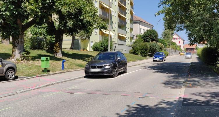 St-Imier : accès à la Rue de la Clef limité