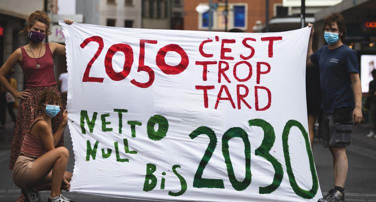 Pour la neutralité en CO2 en 2030 déjà